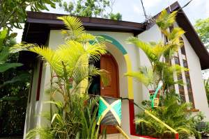 Mausoleum of Bob Marley at Nine Mile