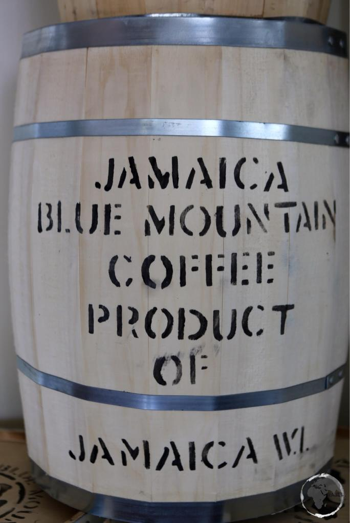 Blue Mountain coffee.