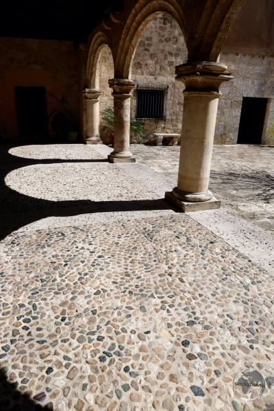 Courtyard of Museo de las Casas Reales in Santo Domingo.
