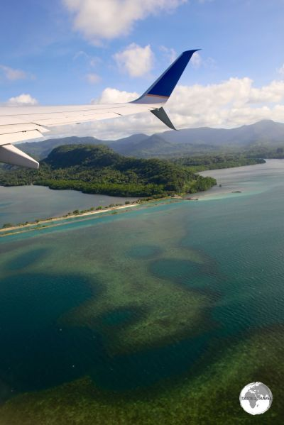 United Airlines' UA154 departing from Chuuk.