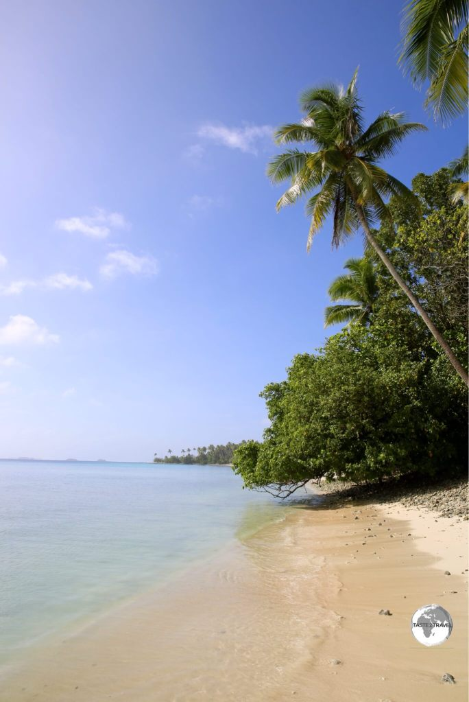 Enimanet Island – a short boat ride from Majuro.