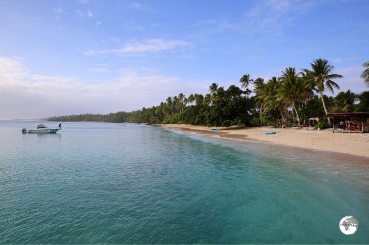 Enemanit Island, Marshall Islands.