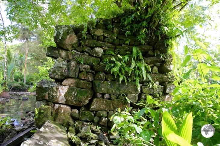 Lelu Ruins on Kosrae.