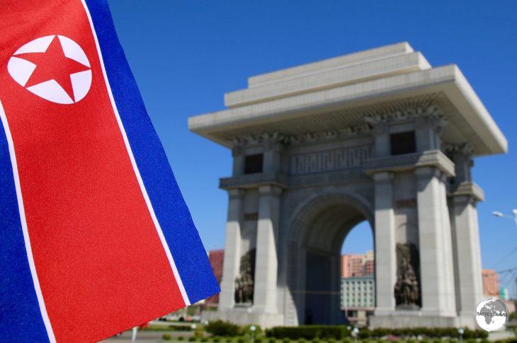 Arch of Triumph, Pyongyang