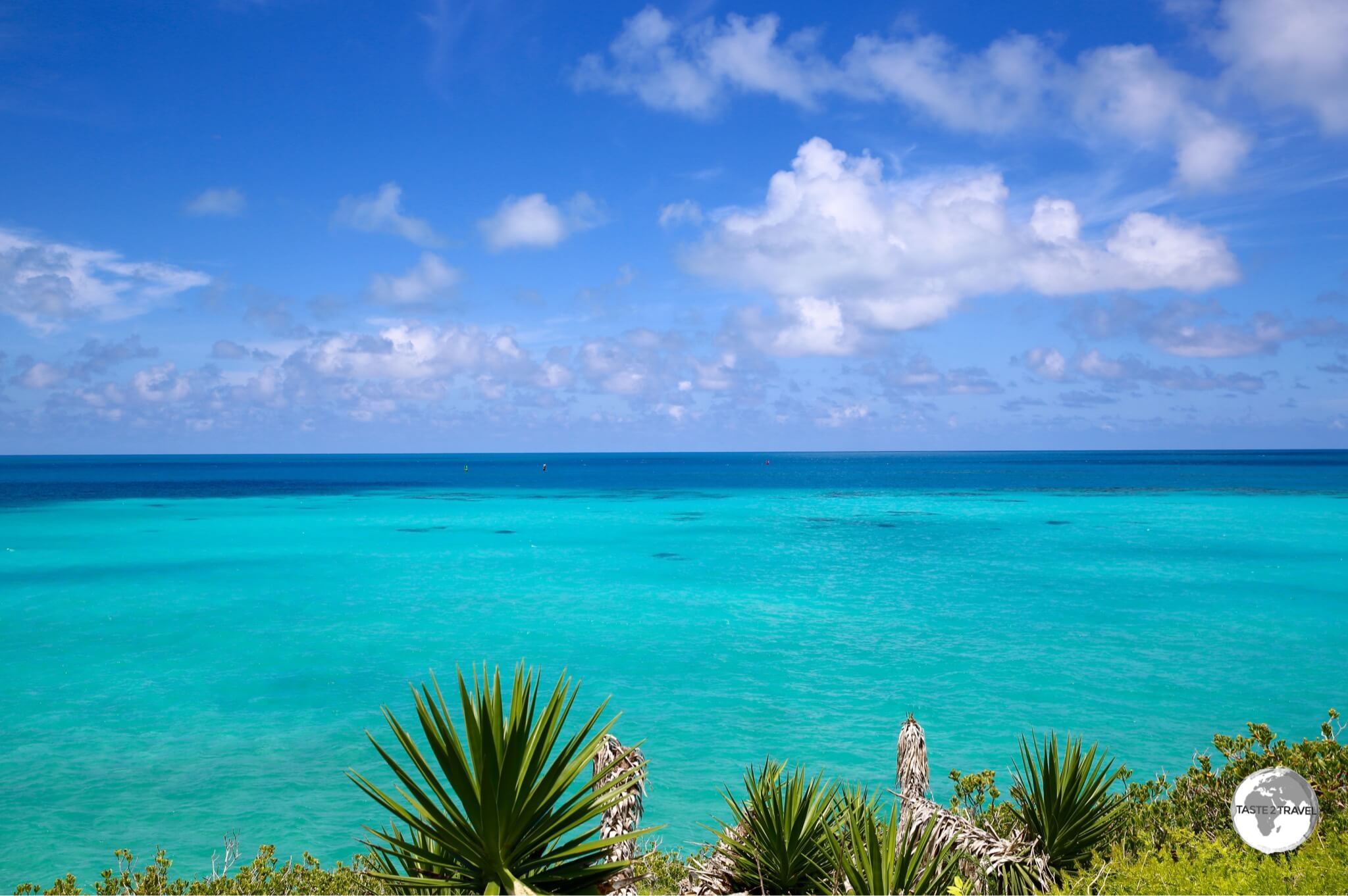Bermuda is surrounded by a treacherous fringing reef which has claimed many ships in the past.