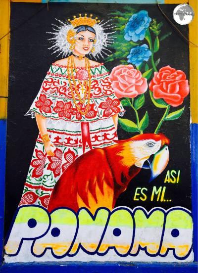 Artwork in Panama City old town.