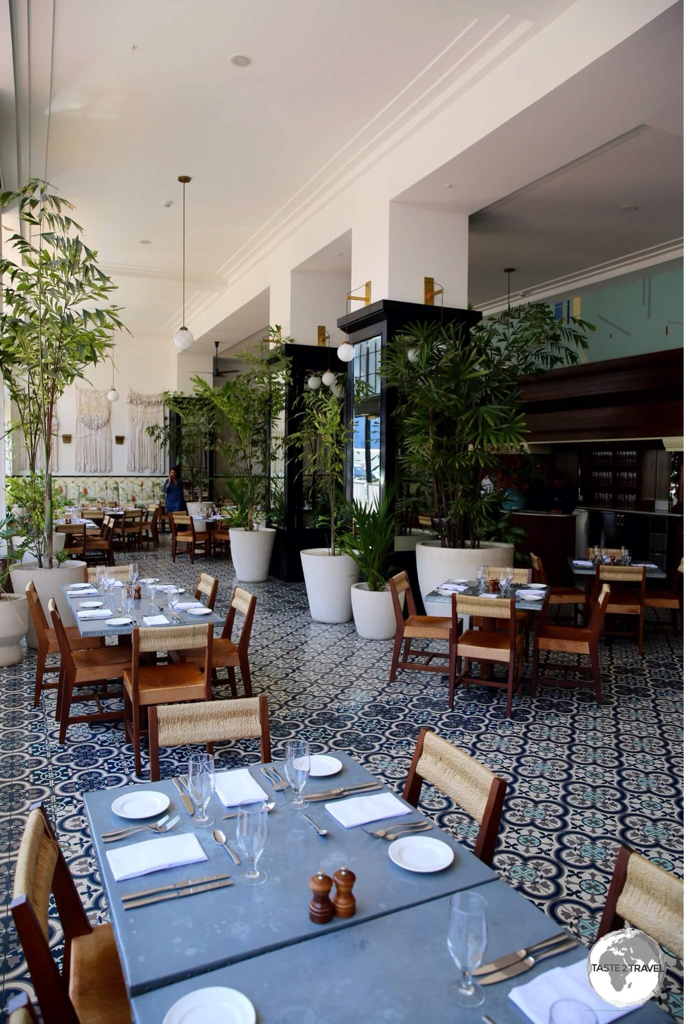 Restaurant at the American Trade Hotel, Casco Antiguo – Panama City