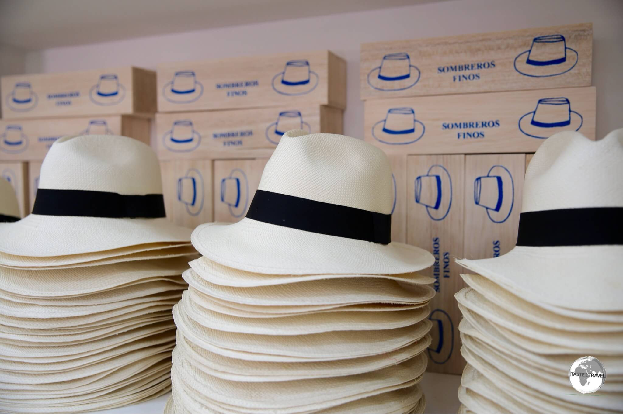 Despite their name, Panama hats are actually made in Ecuador.