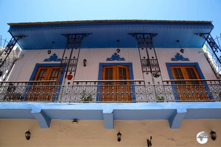 Spanish-style architecture in the Casco Antiguo, Panama City.