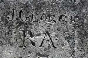 Historical graffiti.