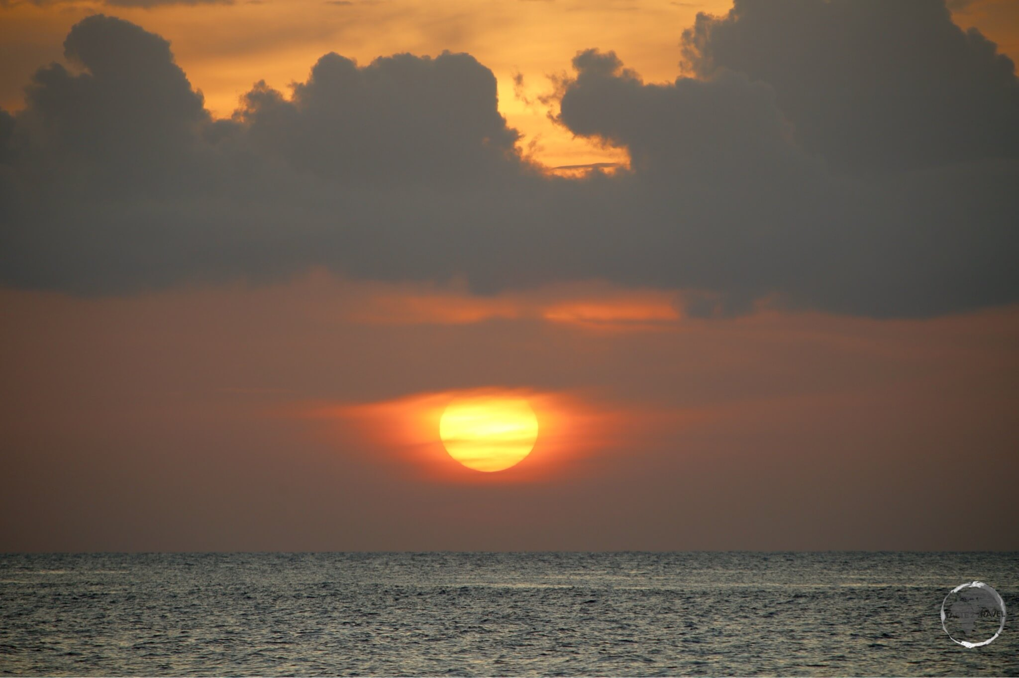 Sunset at Macabuca on Grand Cayman.