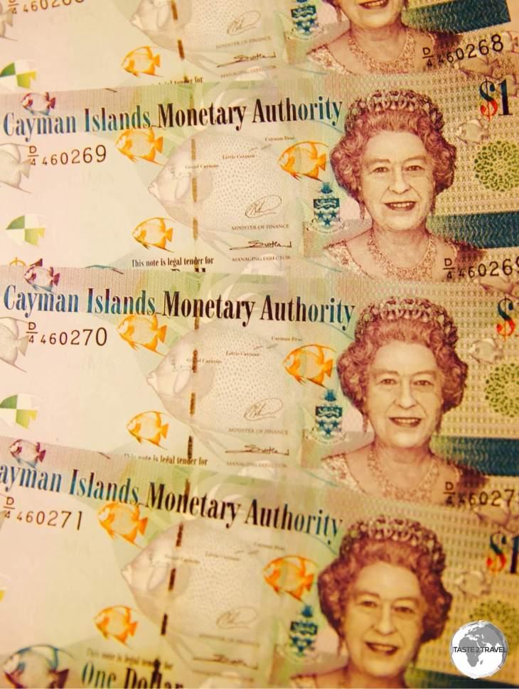 Cayman Islands Dollar.