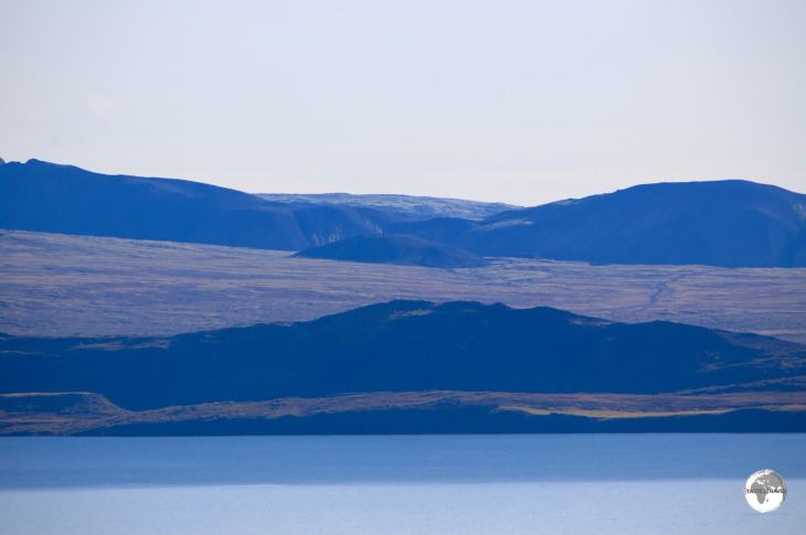 Thingvallavatn Lake, the largest lake in Iceland is part of Thingvellir National Park.
