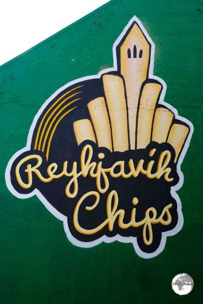 Chip shop in Reykjavik.