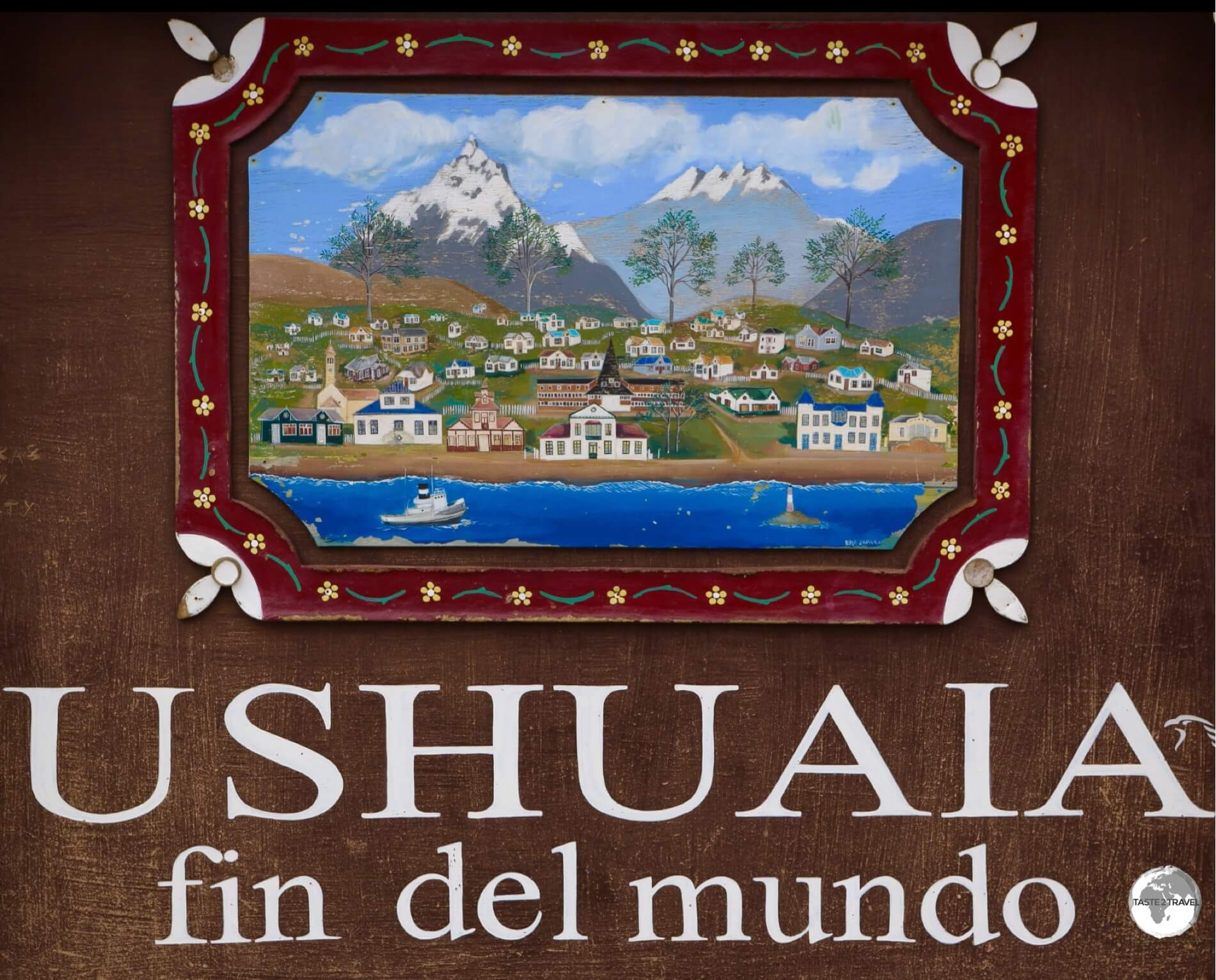 Located at 54 degrees South, Ushuaia is the most southern city in the world and, due to its close proximity to the southern continent - the departure point for boat trips to Antarctica.