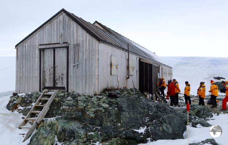 Located on Detaille Island - Base W is a former British research station which is now a museum.