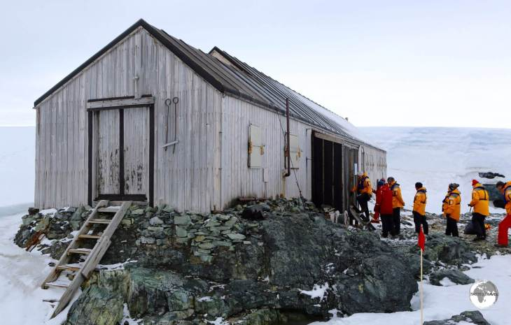 Located on Detaille Island - <i>Base W</i> is a former Britishresearch station which is now a museum.