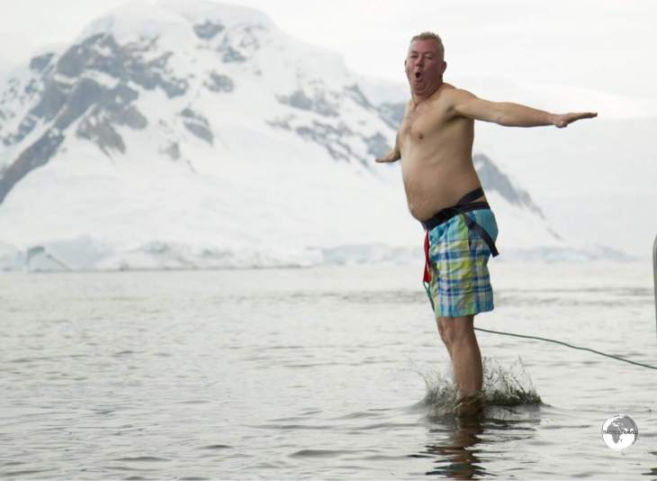 A polar plunge is a truly invigorating experience! With a water temperature of just two degrees, the moment you hit the water is literally shocking.