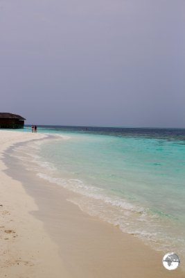 Beach on Vilamendhoo.