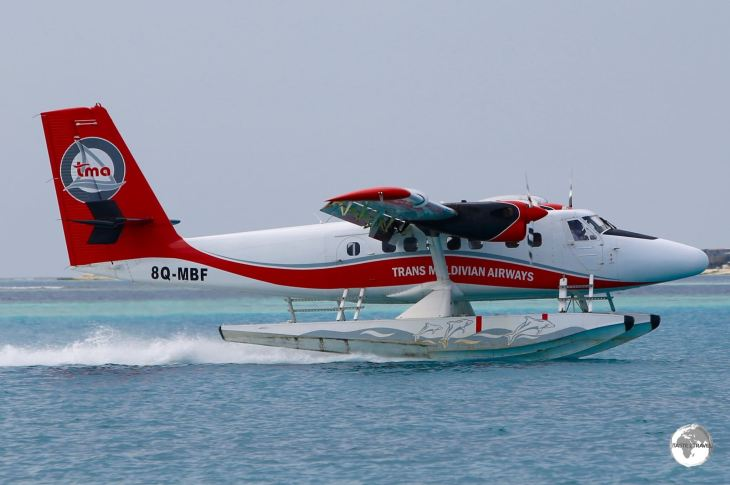 Trans Maldivian Airways (TMA) operate the largest fleet of seaplanes in the world.
