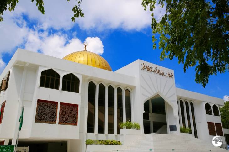 The Grand Friday Mosque in Malé.