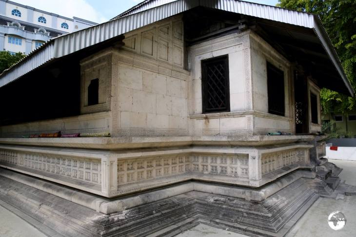 Constructed in 1153, the Friday Mosque in Malé is the oldest mosque in the Maldives.