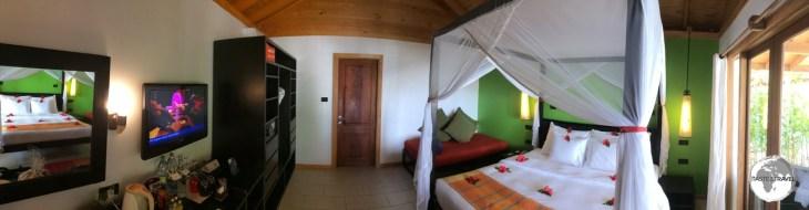 Accommodation at Vilamendhoo resort.