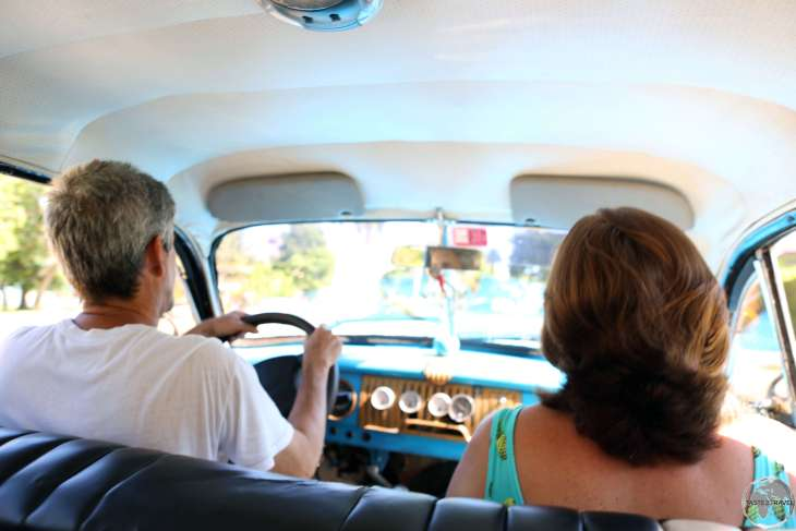 Riding in a Colectivo is a quintessential Cuban travel experience.