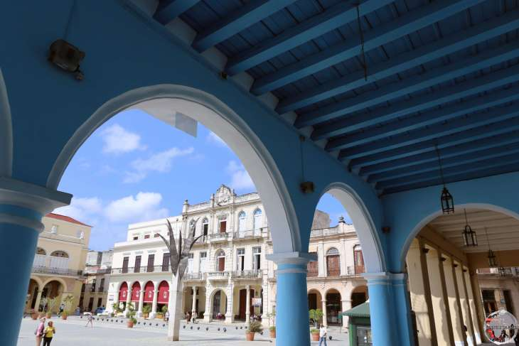 The old town in Havana is a treasure trove of Colonial architecture,