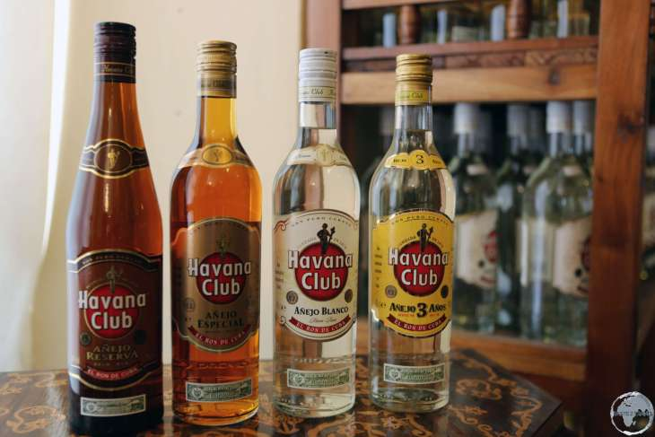 Havana Club - Cuba's most popular rum export.