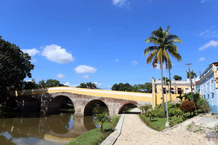 The historic Yayabo bridge in Sancti Spíritus.