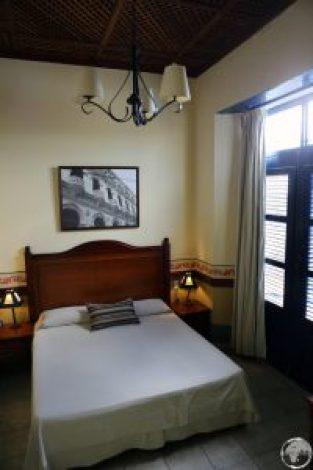 My beautiful room at Hotel del Rijo.