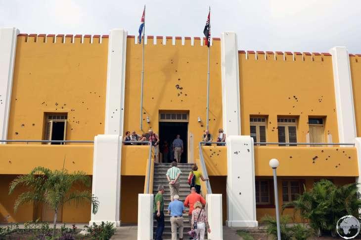 Moncada Barracks in Santiago de Cuba.