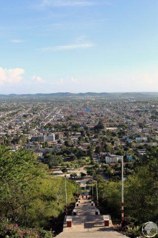 View of Holguin from Loma de la Cruz (Hill of the Cross).