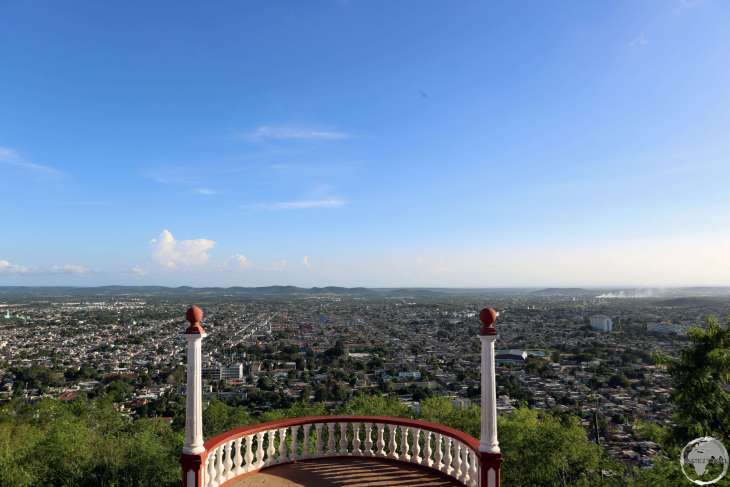 Panoramic view of Holguin from Loma de la Cruz (Hill of the Cross).