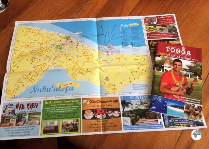 Friend's Cafe is the perfect place to plan your exploration of Tongatapu.