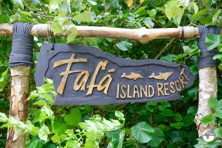 A true tropical paradise - Fafa Island Resort.