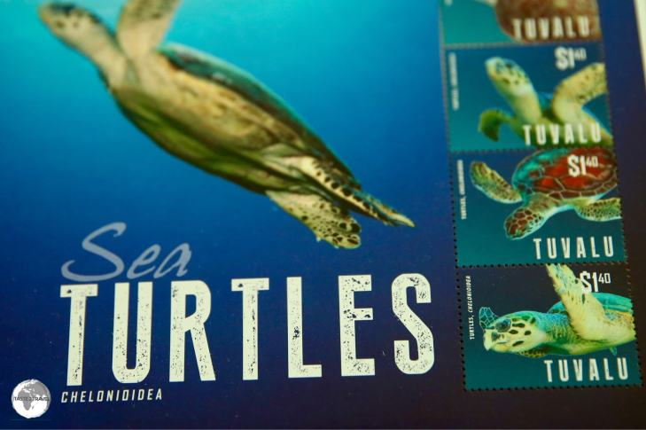 Stamps from remote Tuvalu are collected by Philatelists all over the world.