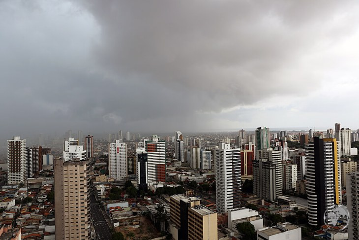 Most afternoons, the city of Belém is enveloped by fierce tropical storms.