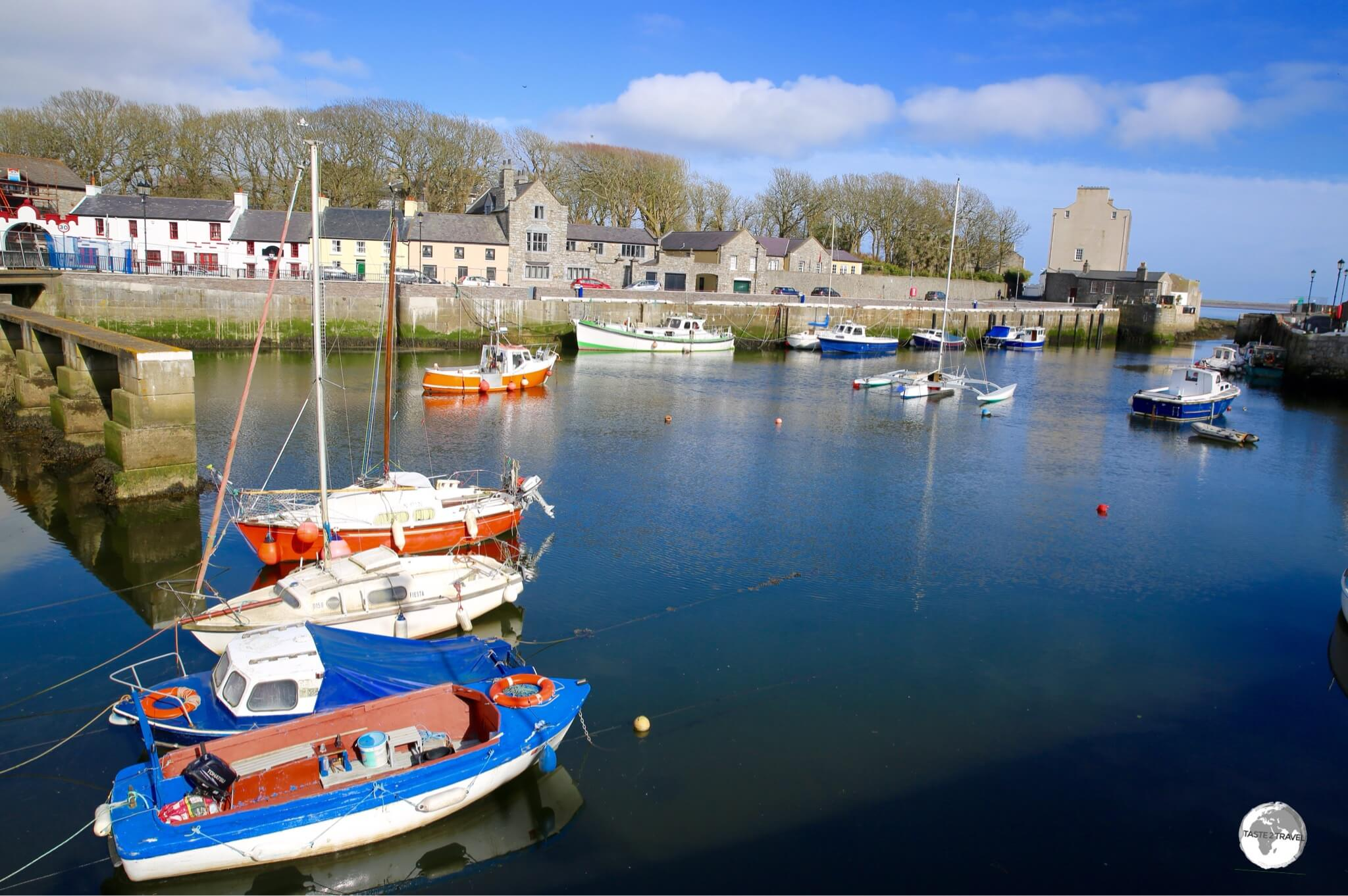 The picturesque port in Castletown.