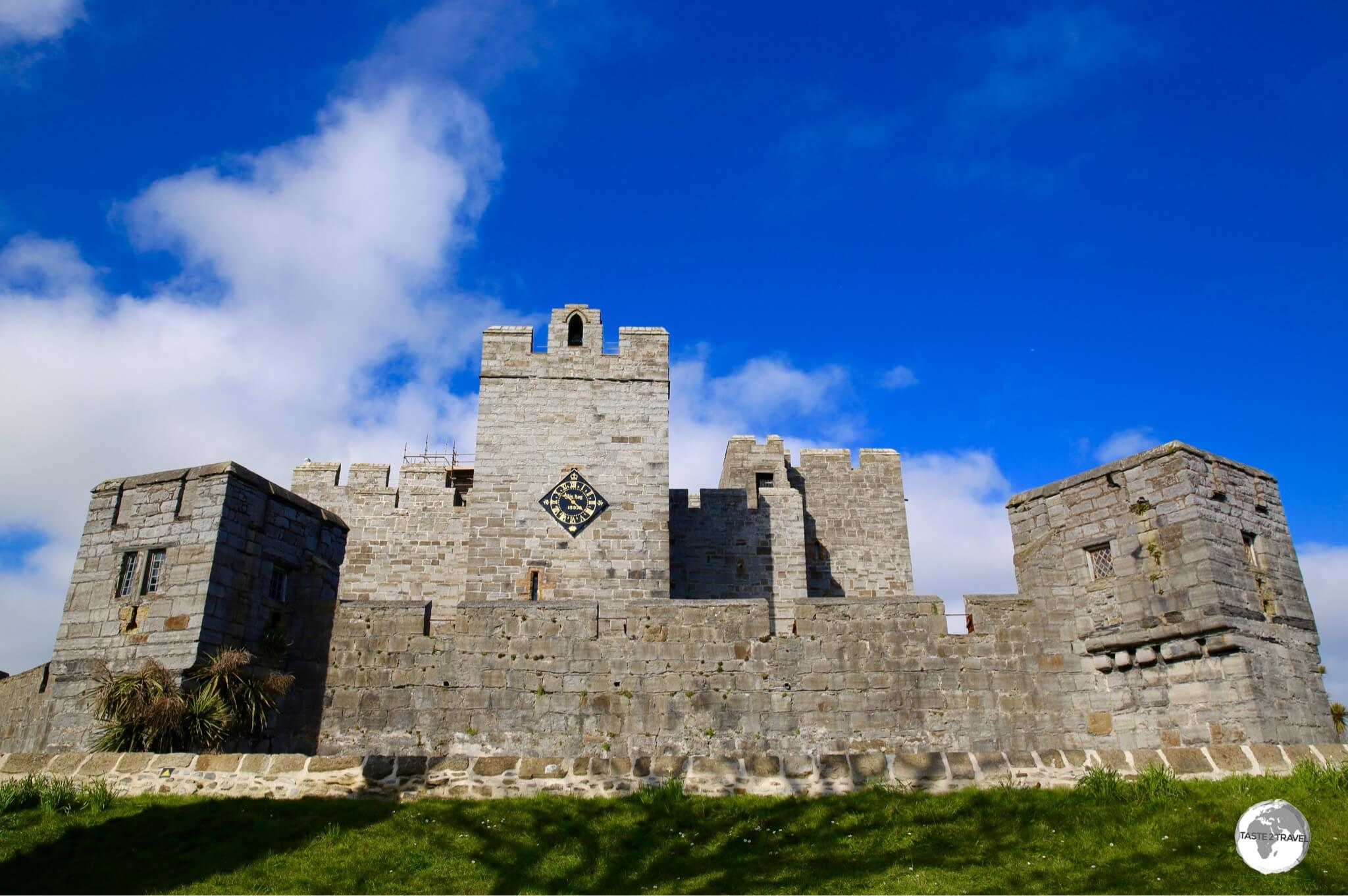 The namesake of Castletown, Castle Rushen dominates the downtown area.