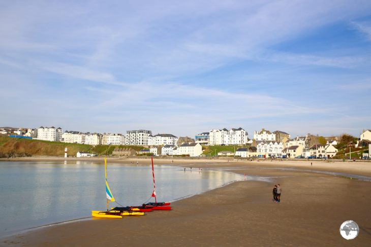 Port Erin offers one of the best beaches on the Isle of Man.