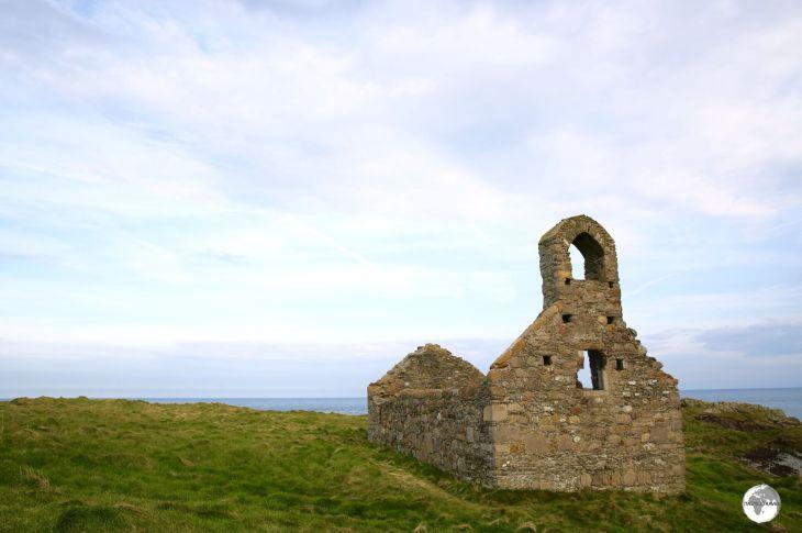 St. Michael's chapel on St Michael's Isle.