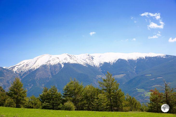 Coll de la Gallina, Andorra