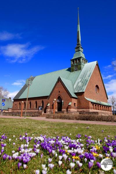 St. George church in Mariehamn.