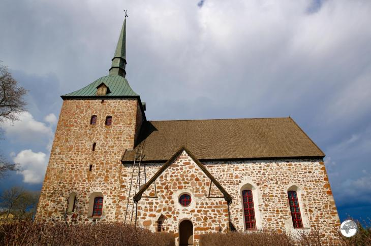 The Sund church dates from medieval times.