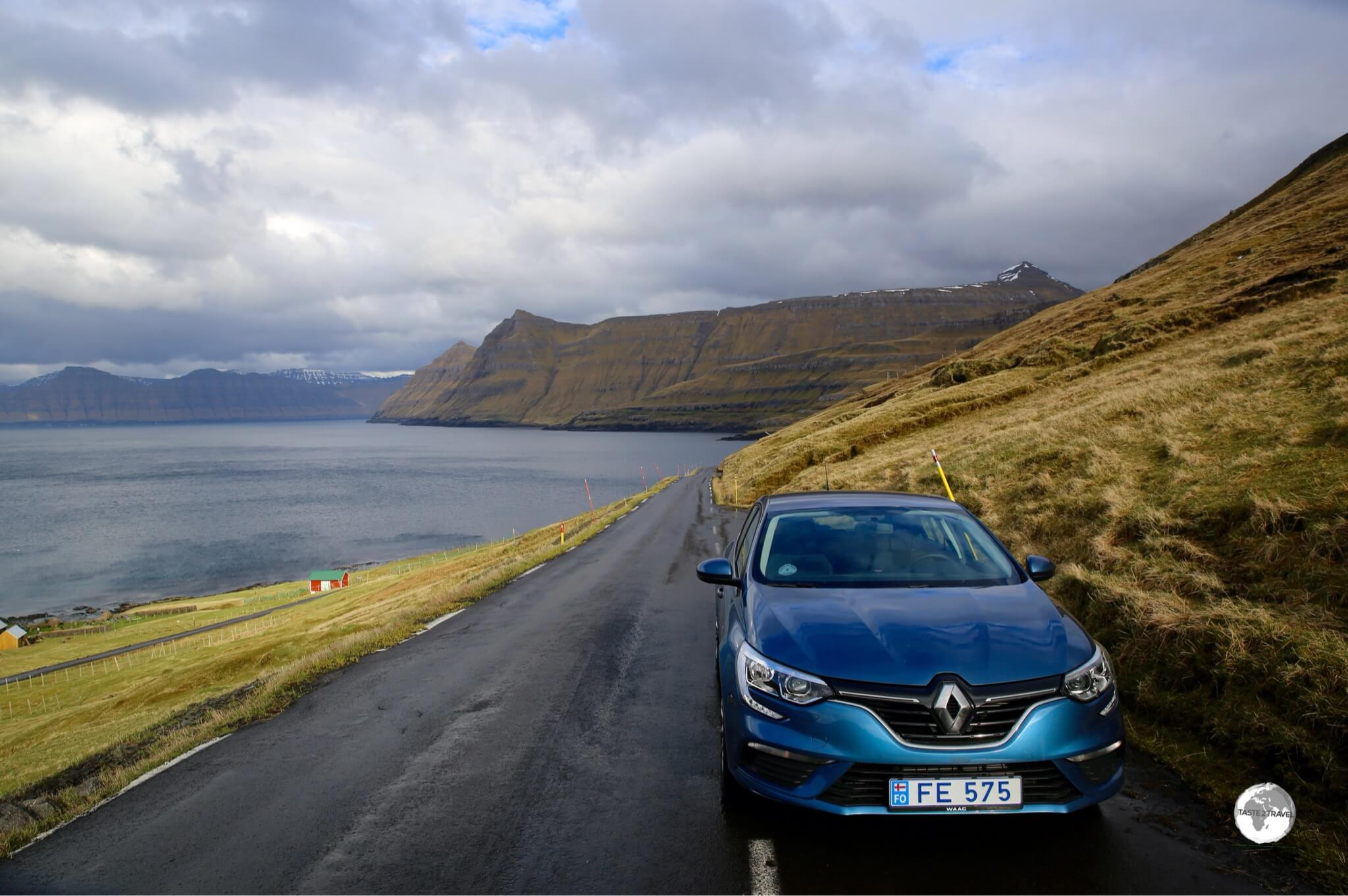 A rental car is the best way to explore the remote backroads of the Faroe Islands.