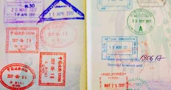 Passport Stamps.