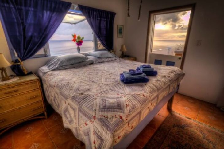 The views from the Heavenly Suite truly are heavenly. Source: Gingerbread Hill Guest House.