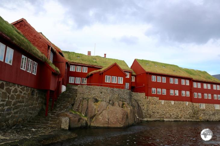 The ancient Althing (parliament) was first convened on the rocky point which is today the Tinganes neighbourhood in Tórshavn.